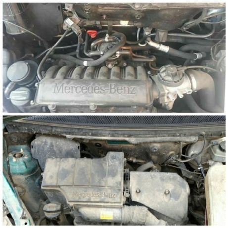Двигун mercedes 1.6 1.7 A160 A170 om668 розборка А класу