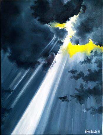 """Obraz olejny """"Ray of Hope"""""""