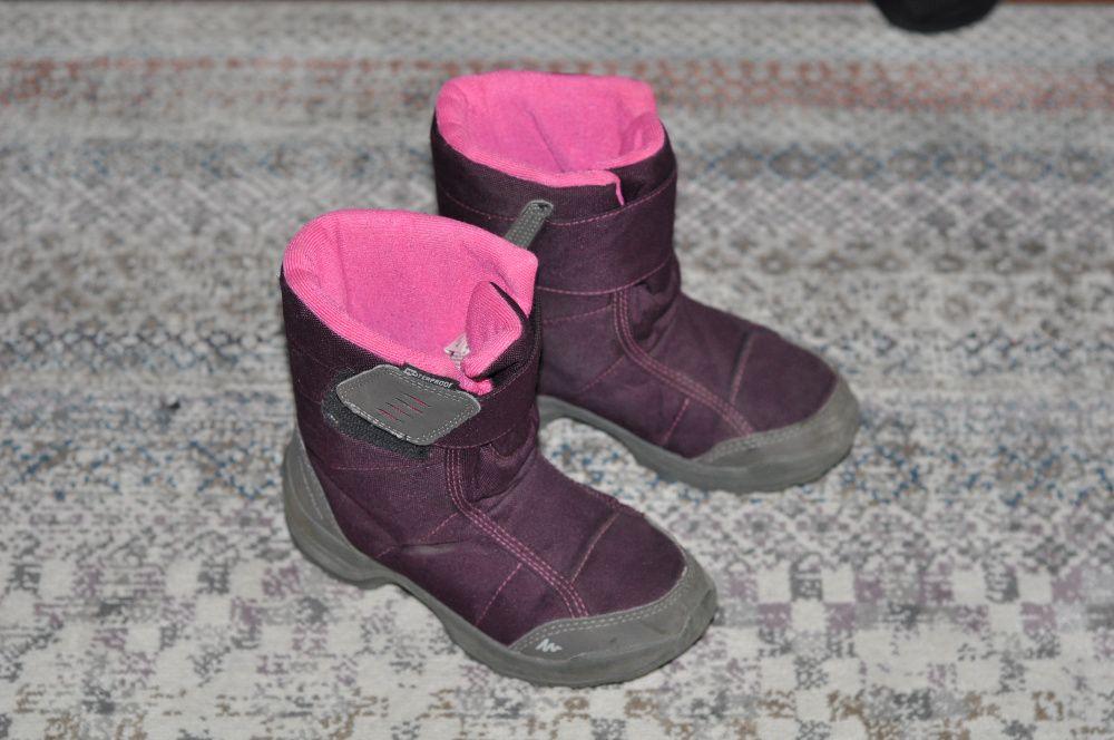 Quechua kozaki buty zimowe dla dziecka rozmiar 30 Warszawa - image 1