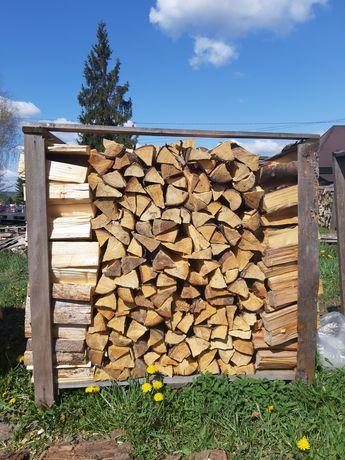 Drewno opałowe kominkowe - świerkowe szczypane.