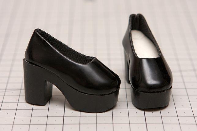 Buty dla lalki BJD Minifee 1/4 czarne
