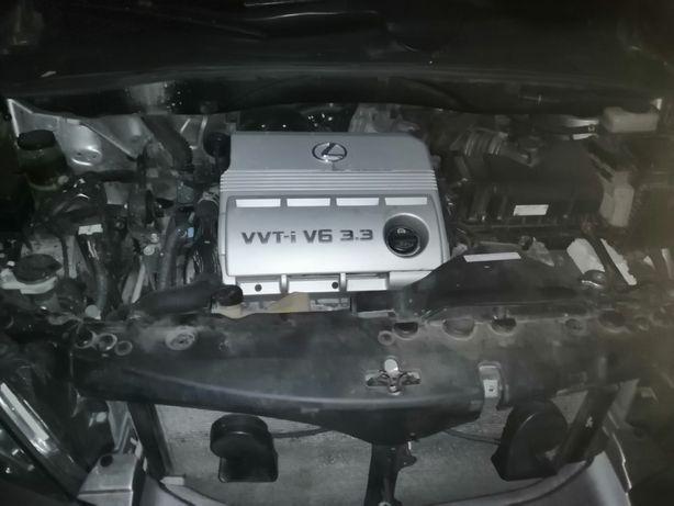 Двигатель 3MZ-FE Акпп Lexus RX330 Canada USA 2004 2005 2006 2007