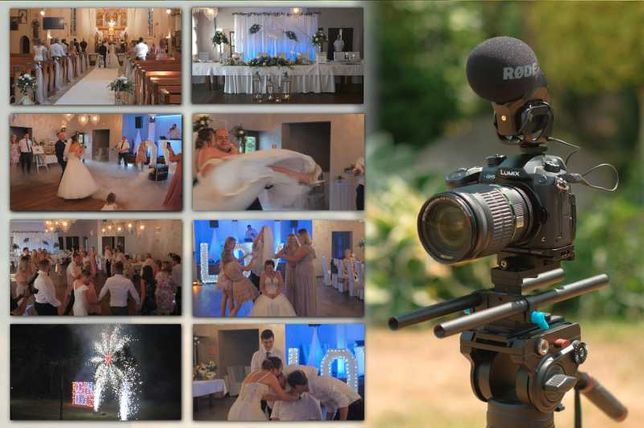 Kamerzysta weselny, wideofilmowanie