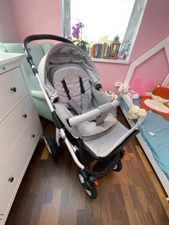 Wózek dziecięcy Adamex 3 w 1 nosidelko Maxi Cosi + Baza FamilyFix