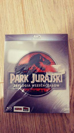 Bluray Park Jurajski Trylogia PL. Folia. Digipack. Unikat!