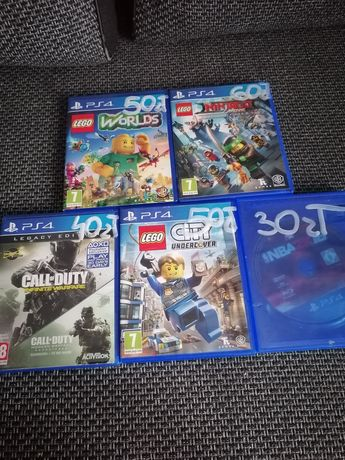 Gry ps4 Lego, NBA, Call of duty,