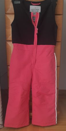 Spodnie kombinezon zimowy narciarski