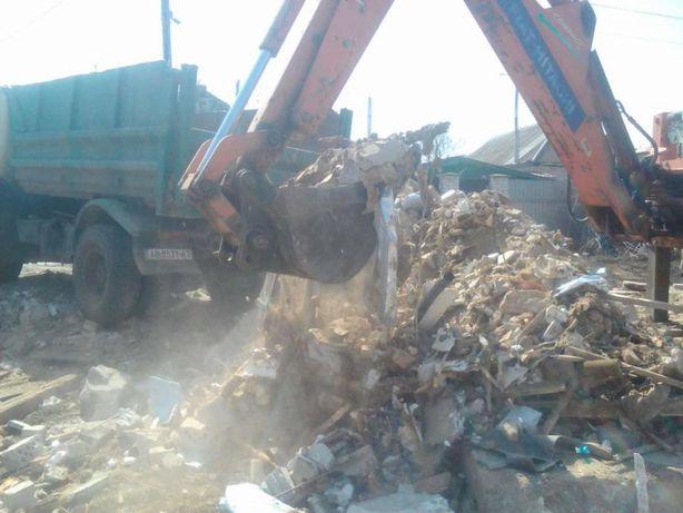 Заказывайте Недорогой Вывоз и Утилизацию Строительного мусора, боя