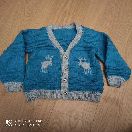 Sweterek świąteczny 110-116