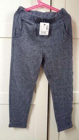 Nowe spodnie dresowe dla dziewczynki Tezenis, r. 128, 7-8 lat