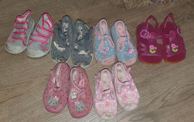 Buty i kapcie dziecięce 19 i 20 dziewczęce
