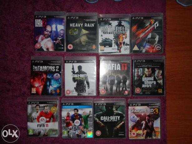 Lote de jogos Playstation 3