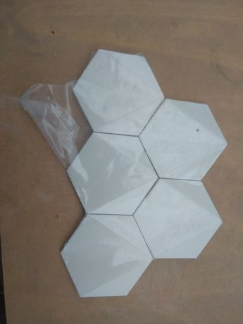 Mozaika ścienna Chenille beige hex 28,9x22,1 5szt