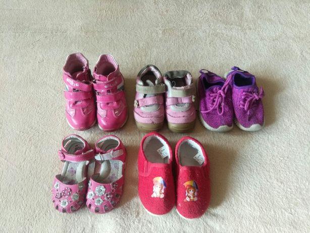 Детские демисезонные ботинки, летние кроссовки, тапочки для девочки