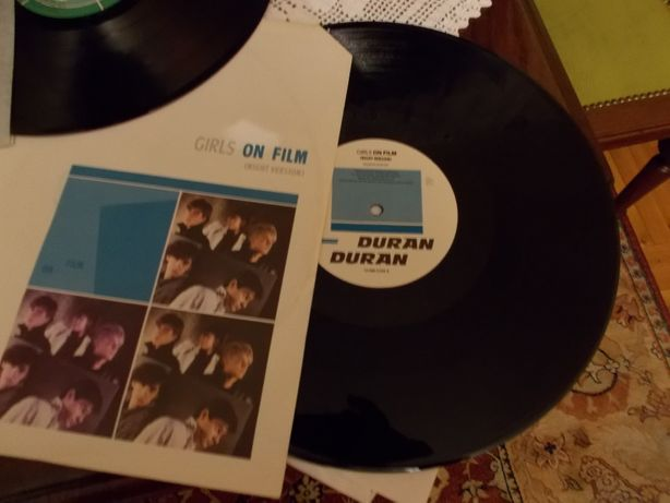 Duran Duran Maxisingiel GIRLS on F Totalny Unikat - jedyny na aukcjac