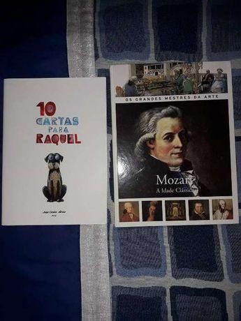 Livros - Mozart - A Idade Clássica e 10 cartas para Raquel