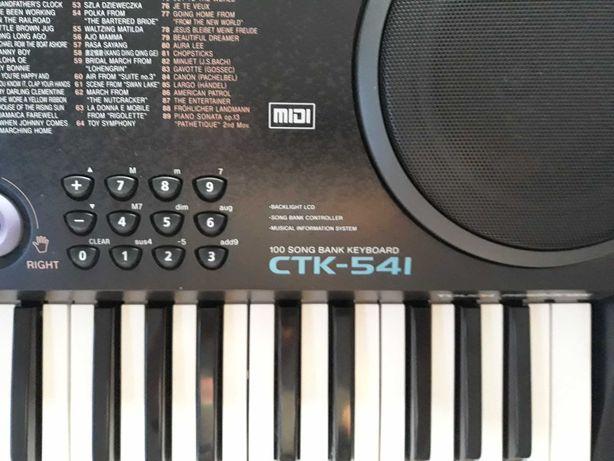 keyboard CASSIO czarny