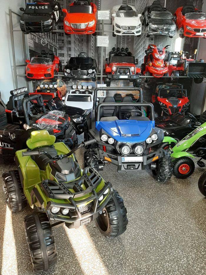 Samochód Quad Motor na akumulator Punkt Stacjonarny Odbiór odbiór osob Bukowno - image 1