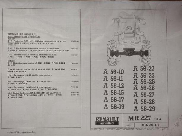 Renault 155.54 książka serwisowa w pdf