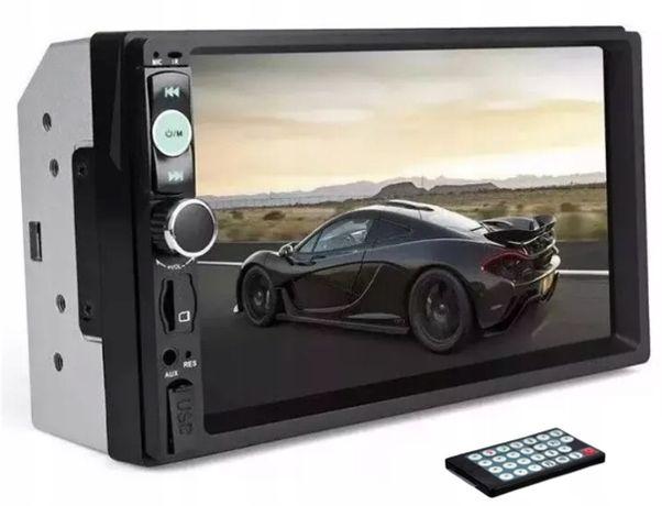 Radio samochodowe Bluetooth 2 DinUSB dotyk 7 cali