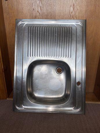 Кухонная мойка нержавейка 80*60