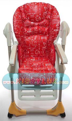 Фабричные чехлы на стульчик чикко Chicco polly