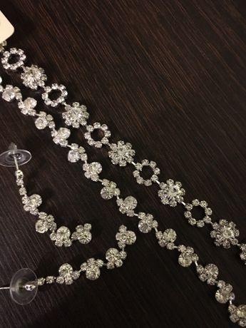 komplet eleganckiej biżuterii