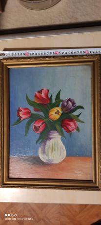 Obraz olejny Kipka