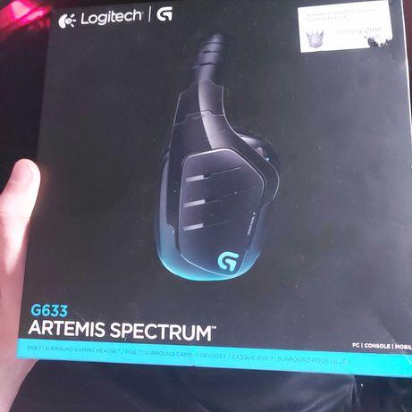 Słuchawki gamingowe Logitech G-pro ARTEMIS SPECTRUM 6633