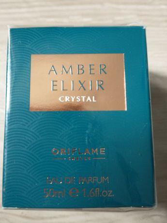 Amber elixir crystal
