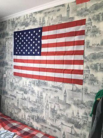 Американский флаг США / прапор Америки 150x90