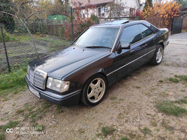 Mercedes W124 Coupe 3.0 24V 220 KM, rok. prod. 1990, najlepszy silnik!