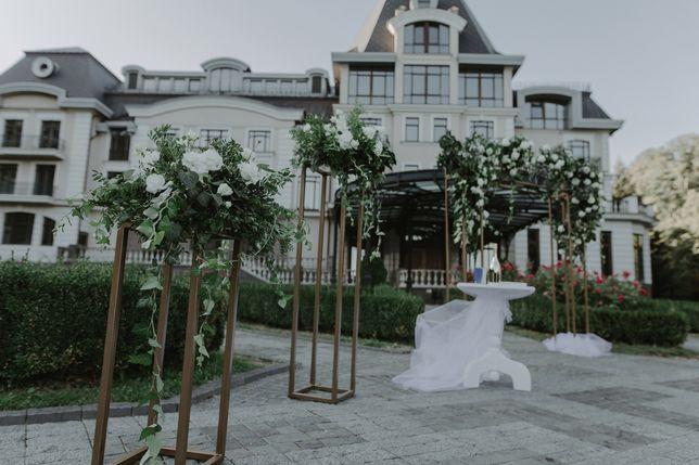 Аренда свадебная арка, стойки.