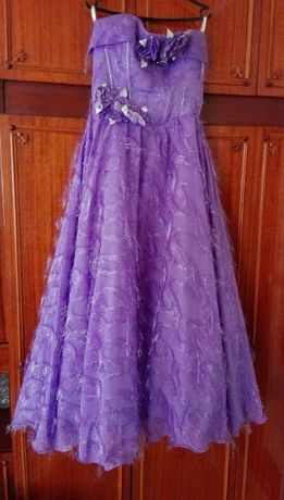 Роскошное свадебное/выпускное платье