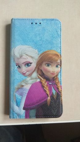 Redmi note 4 4X etui magnetyczne Frozen Anna i Elza