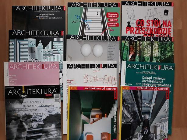 Architektura Murator - czasopismo, magazyn - zestaw 24 szt.