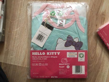 Body 2 sztyki Hello Kitty 62/68