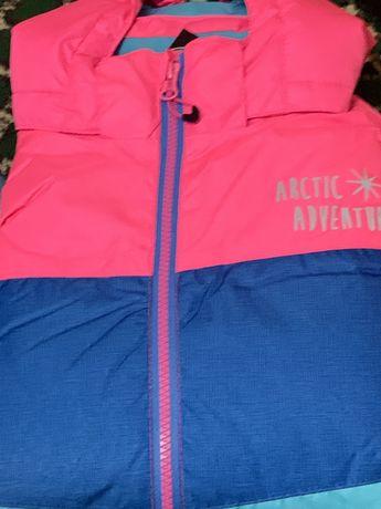 Куртка лыжная,зима,деми,германия,lupilu,crivit 134-140
