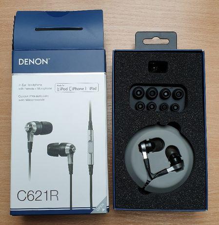 Słuchawki dokanałowe Denon AH-C621 BK
