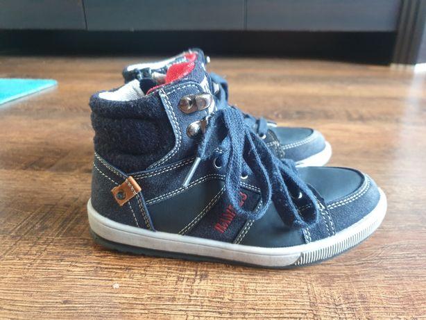 Sneakersytrampki wysoki buty wiosenne r. 29