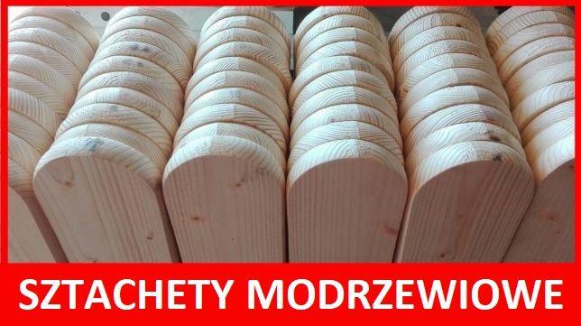 Sztachety Modrzew 20mm x 90mm, Deska ogrodzeniowa
