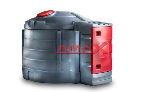 Zbiornik na ON 5000l z dystrybutorem - dwupłaszcz z atestem - AMAX