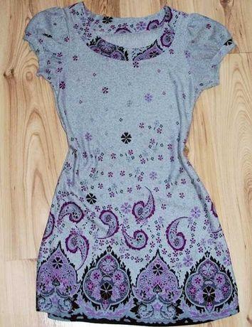 Sukienka tunika z dzianiny marki Apricot L 40