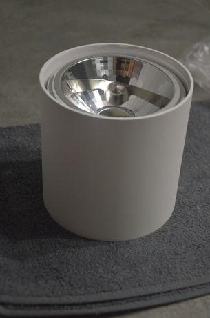 3 nowe lampy Zuma Box Agata meble biała tuba sufit