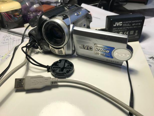Câmara Vídeo JVC Zoom 32x - Gravação para Disco