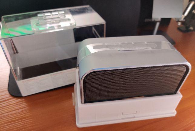 Głośnik bezprzewodowy Bluetooth MANTA SPK9007 ONYX Szary
