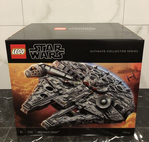 Конструктор LEGO Star Wars Сокол Тысячелетия (75192) /VIP /В наявносты