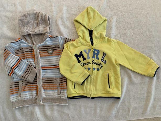 Bluza dla chłopca 2 szt. rozmiar 74, 80 9 - 12 miesięcy Mayoral Kanz