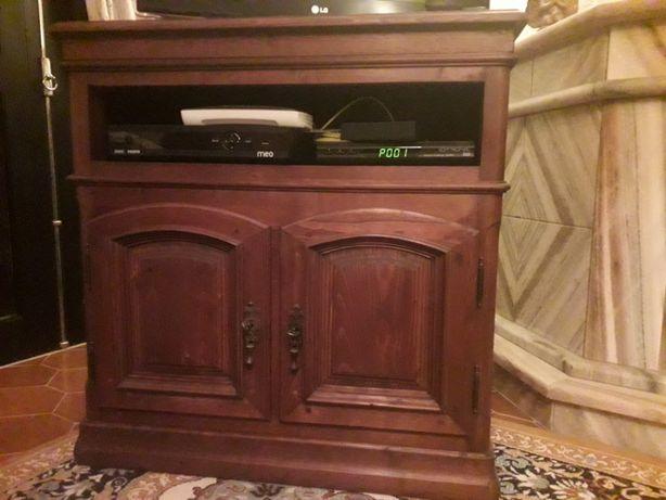 Móvel TV madeira de castanho