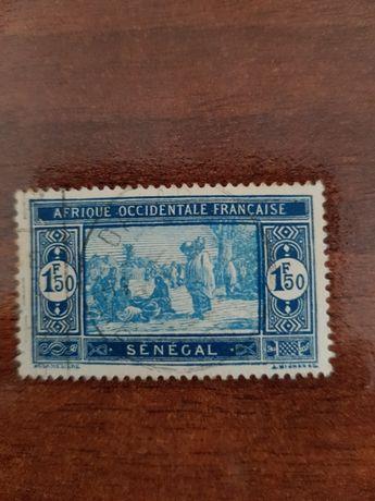 Selo África Ocidental Francesa Senegal